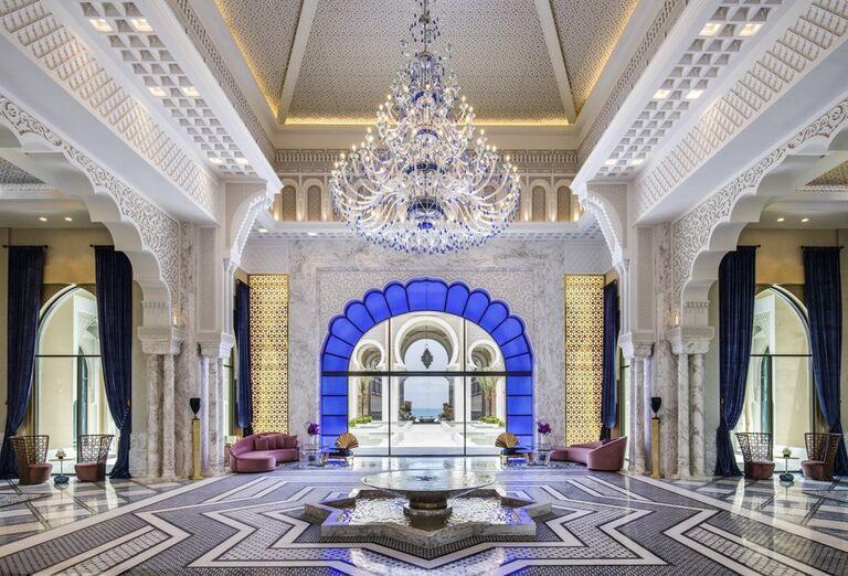 Interiér hotela Rixos Saadiyat Island Abu Dhabi