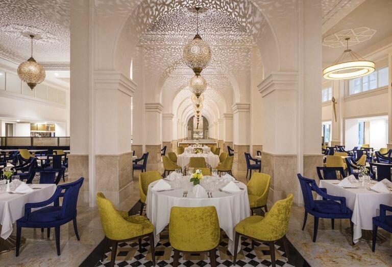 Reštaurácia v hoteli Rixos Saadiyat Island Abu Dhabi