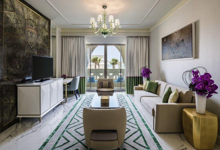 Priestranná izba v hoteli Rixos Saadiyat Island Abu Dhabi