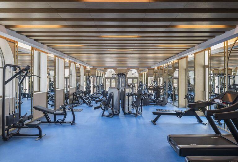 Fitnes v hoteli Rixos Saadiyat Island Abu Dhabi