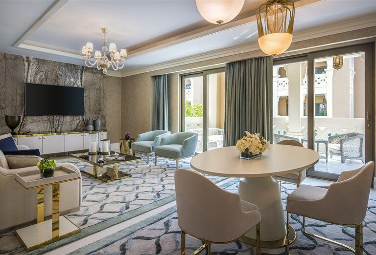 Priestranné ubytovanie v hoteli Rixos Saadiyat Island Abu Dhabi