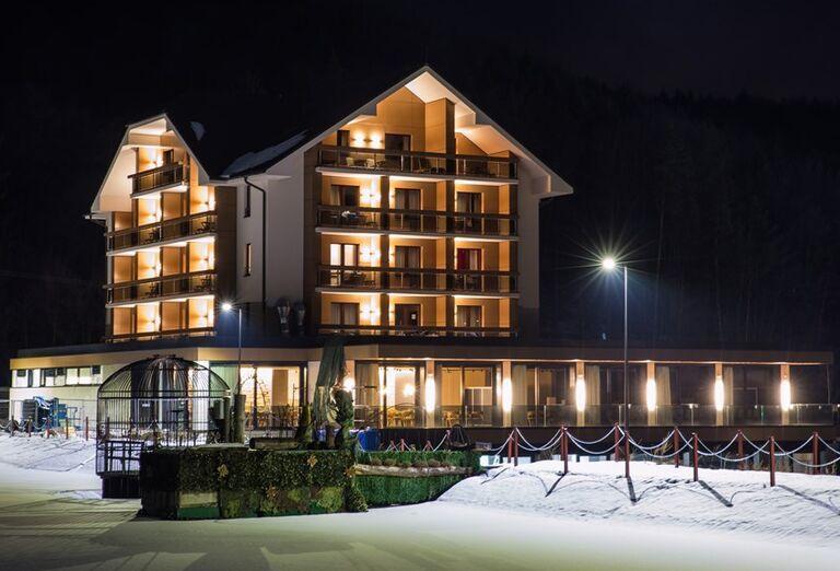 Hotel Impozant - pohľad na hotel