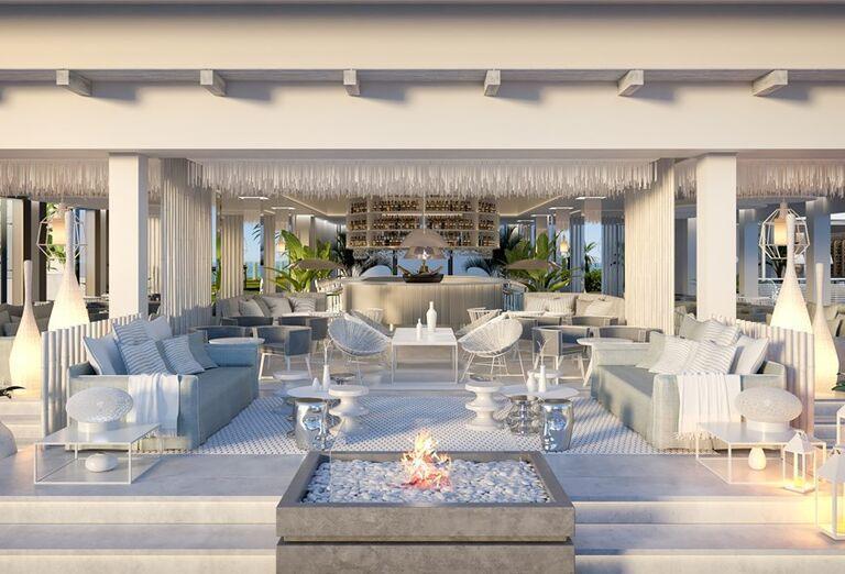 Hotel Ikos Andalusia - vonkajšie posedenie