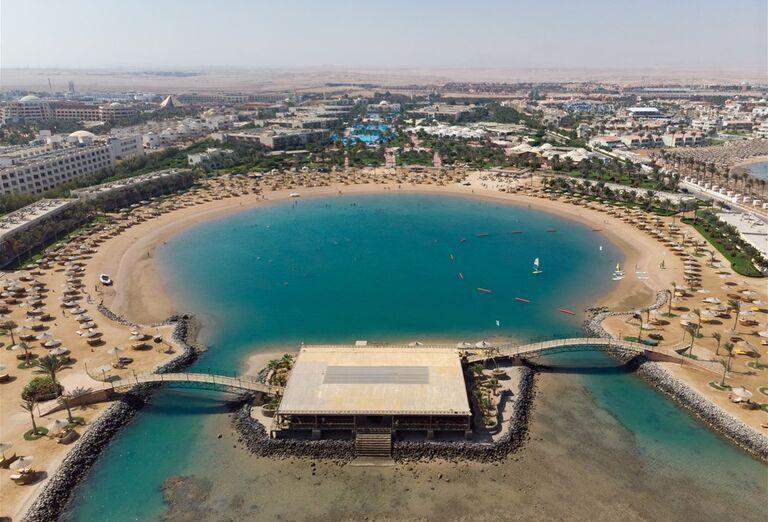Hotel Desert Rose Resort - pohľad na zátoku