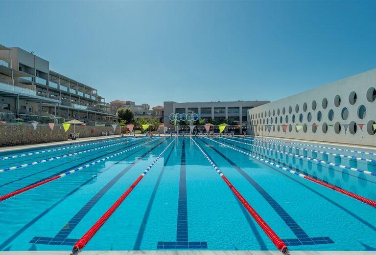 Olympijský bazén v Lytos Beach