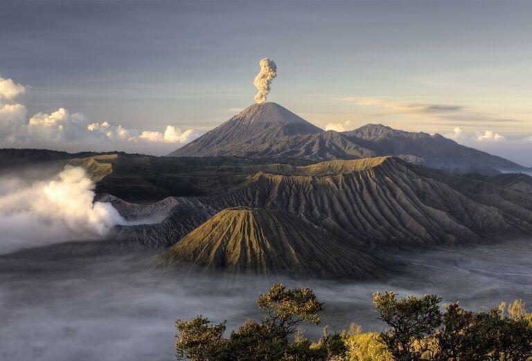 Indonézia - Tajomná Jáva a oddych na Bali - sopka