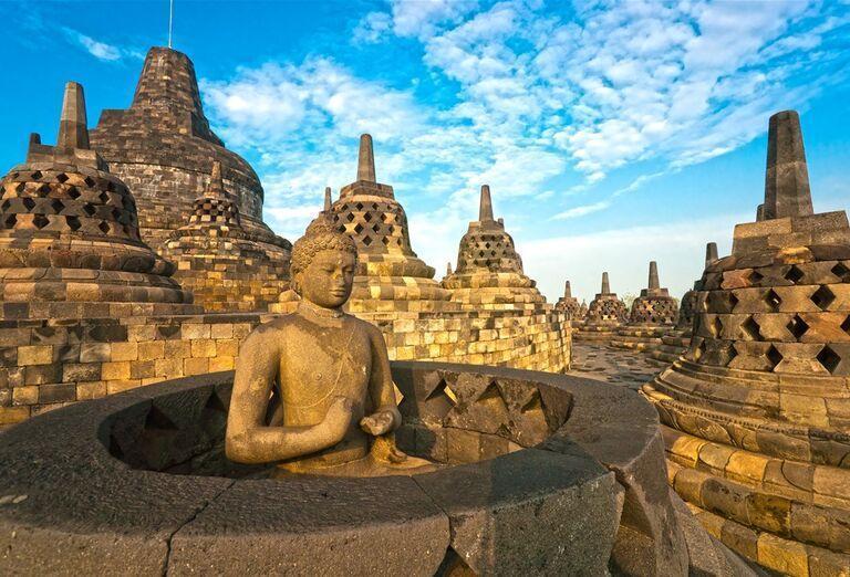 Indonézia - Tajomná Jáva a oddych na Bali - pamiatky