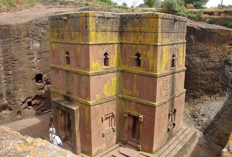 Etiópia - Historická cesta a nádherné pohorie Simien, architektúra