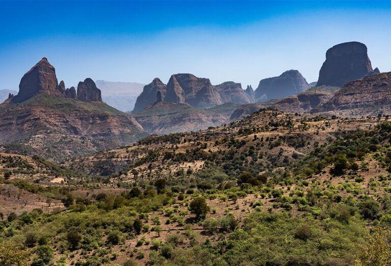 Etiópia - Historická cesta a nádherné pohorie Simien
