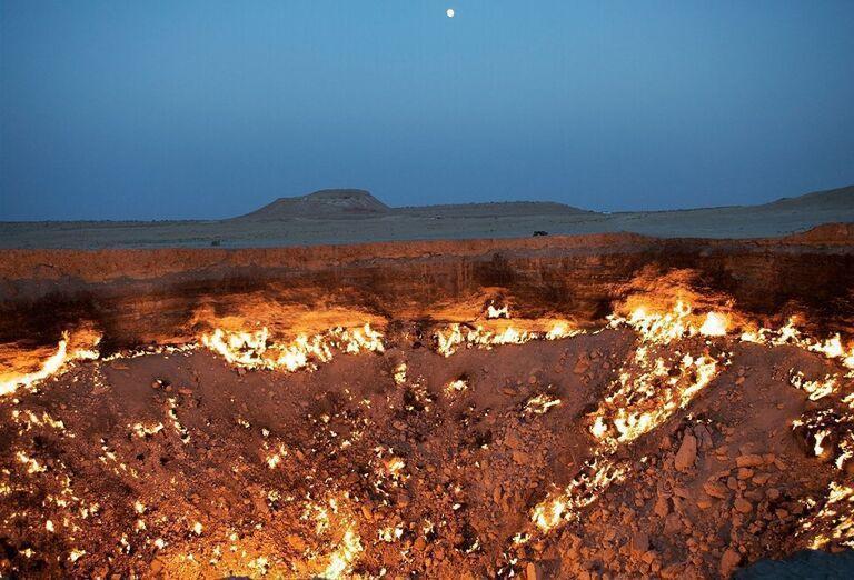 Uzbekistan & Turkménsko - klenoty Hodvábnej cesty - Brána do pekla