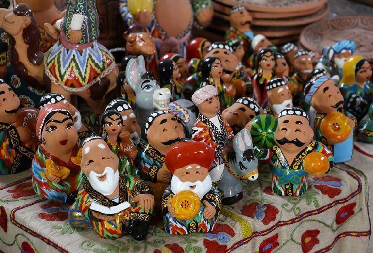 Uzbekistan & Turkménsko - klenoty Hodvábnej cesty - sošky