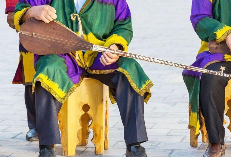 Uzbekistan & Turkménsko - klenoty Hodvábnej cesty - hudobníci