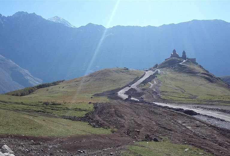 Gruzínsko & Arménsko - hory v okolí