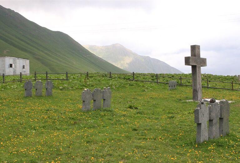 Gruzínsko & Arménsko - cintorín