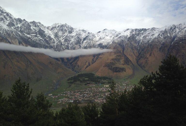 Gruzínsko - skryté poklady Kaukazu- pohľad na mesto