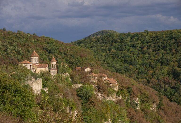 Gruzínsko a jeho prírodné krásy - Pohľad na okolie