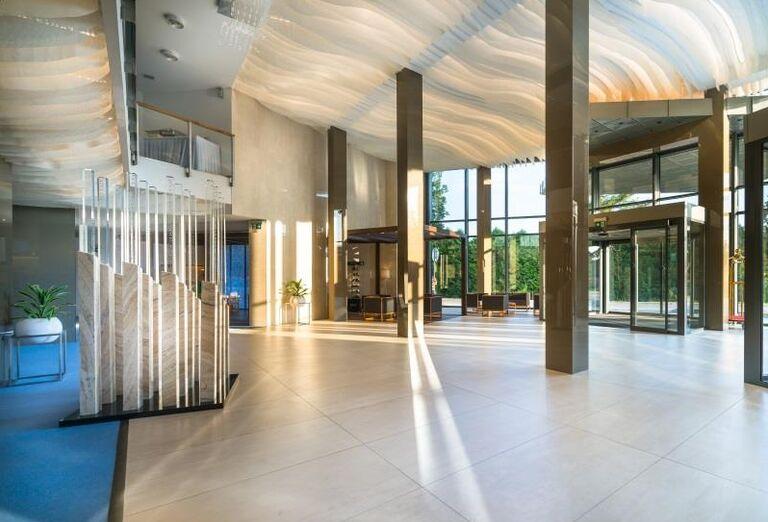 interiér hotela, Hotel Galeria Thermal