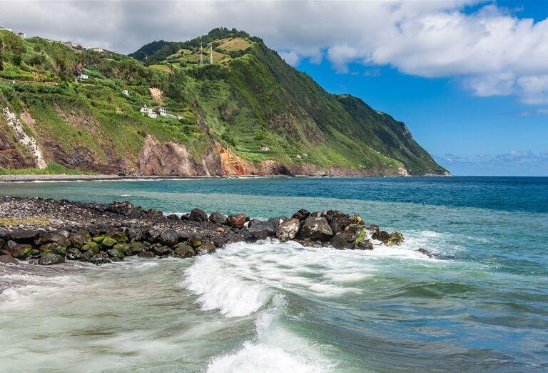 Ostrov Sao Miguel, Azorske ostrovy, Portugalsko, poznávací zájazd