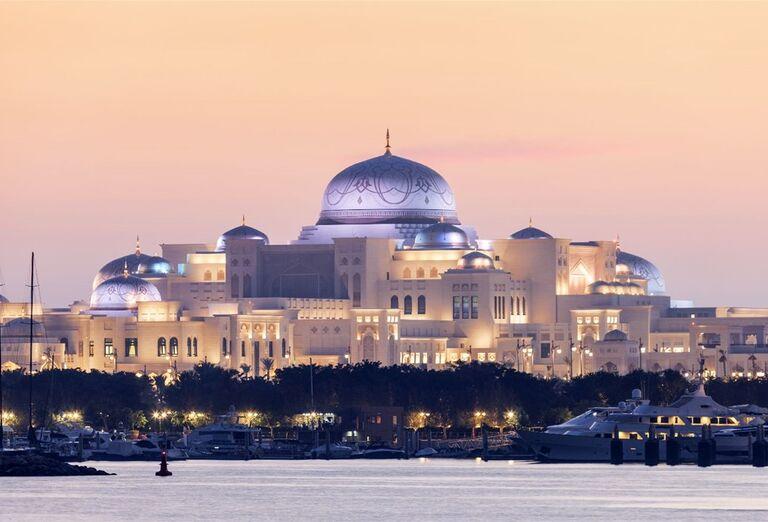 Pohľad na  mešitu