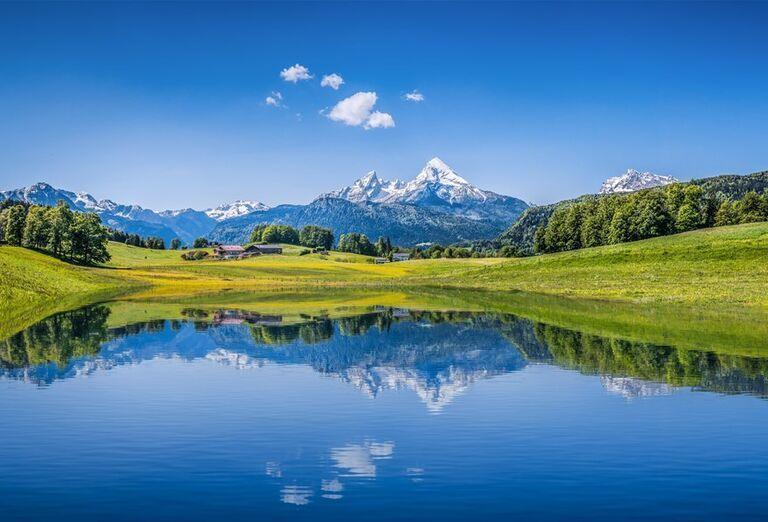 Vodopády a rokliny, poznávací zájazd Rakúsko - jazero