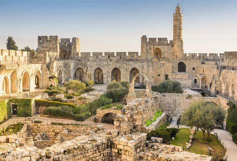 Izrael - tváre Izraela - pamiatky