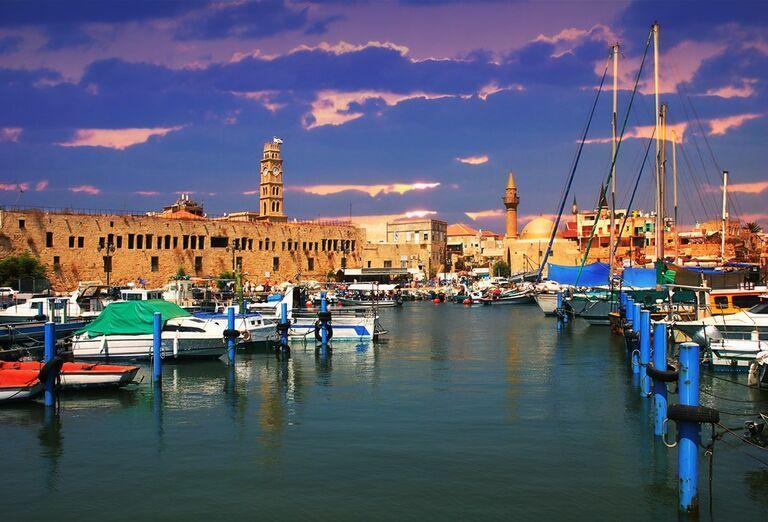 Izrael - tváre Izraela- prístav