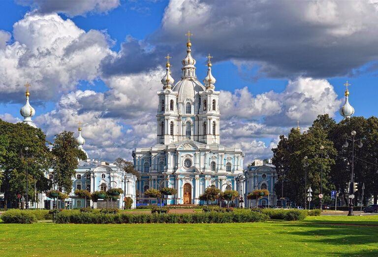 Advent v Petrohrade -  kostol