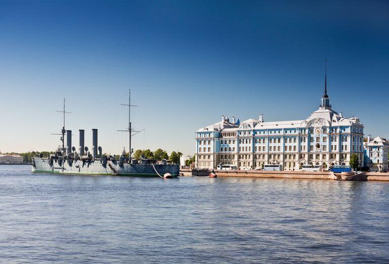 Petrohrad a plavba Ladožským jazerom- pamiatky
