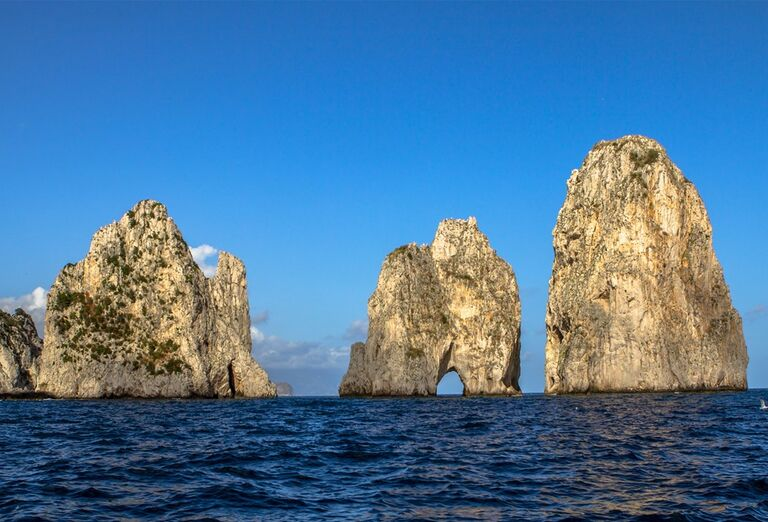 Capri a Vezuv za víkend - pohľad na more