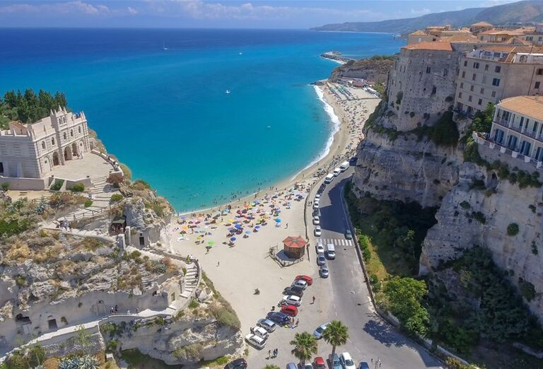 Pohľad na záliv, poznávací zájazd, Taliansko