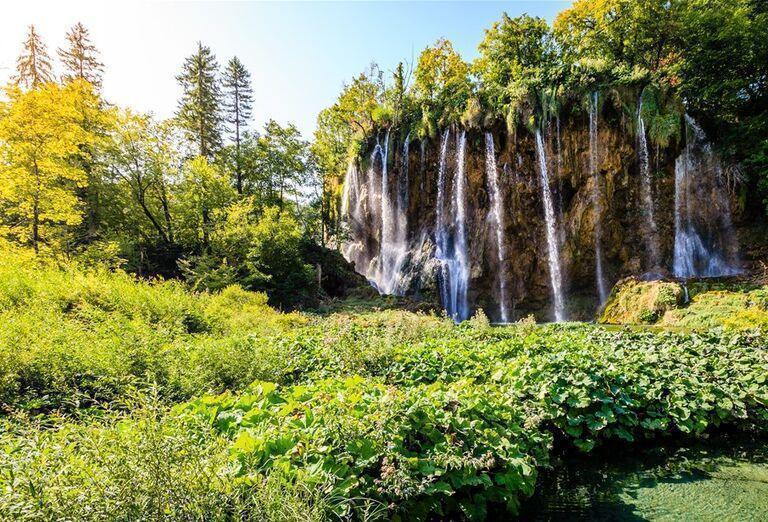 Víkend na Plitviciach - vodopády