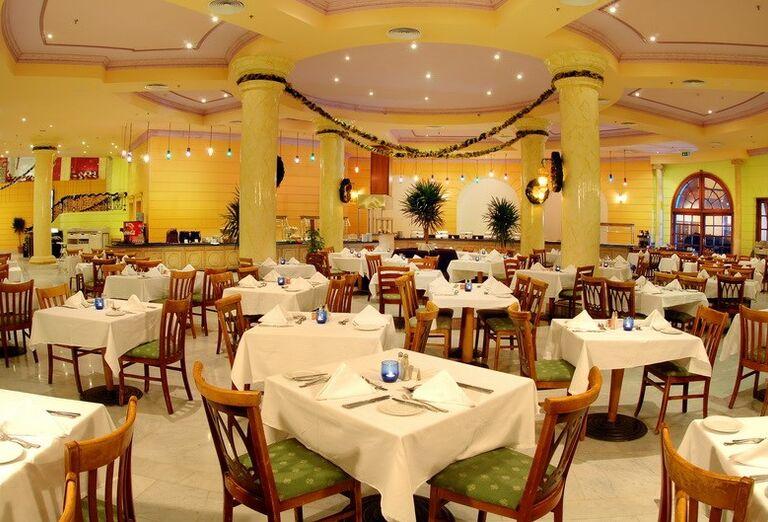 Stolovanie v hoteli Hurghada Long Beach Resort