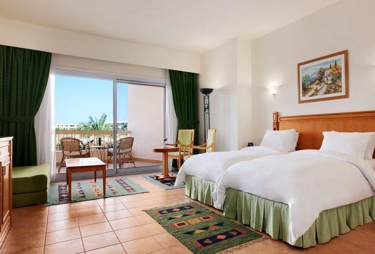 Izba s terasou v hoteli Hurghada Long Beach Resort