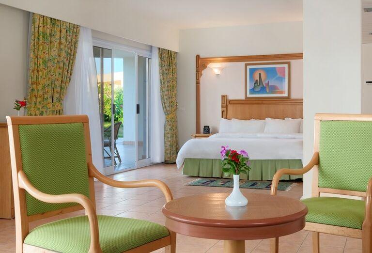 Izba na prízemí hotela Hurghada Long Beach Resort
