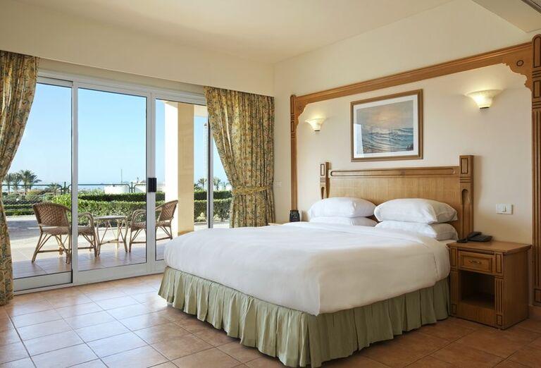 Izba na prízemí hotela Hilton Hurghada Long Beach Resort