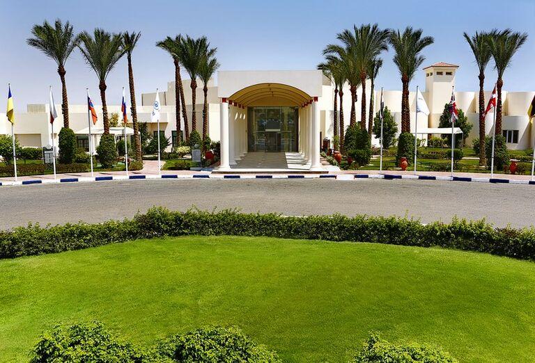 Vstup do hotela Hilton Hurghada Long Beach Resort