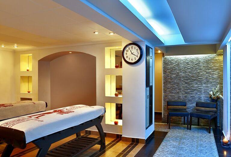 Miestnosť pre masáže v hoteli Hilton Hurghada Long Beach Resort