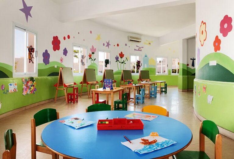 Detský kútik v hoteli Hilton Hurghada Long Beach Resort