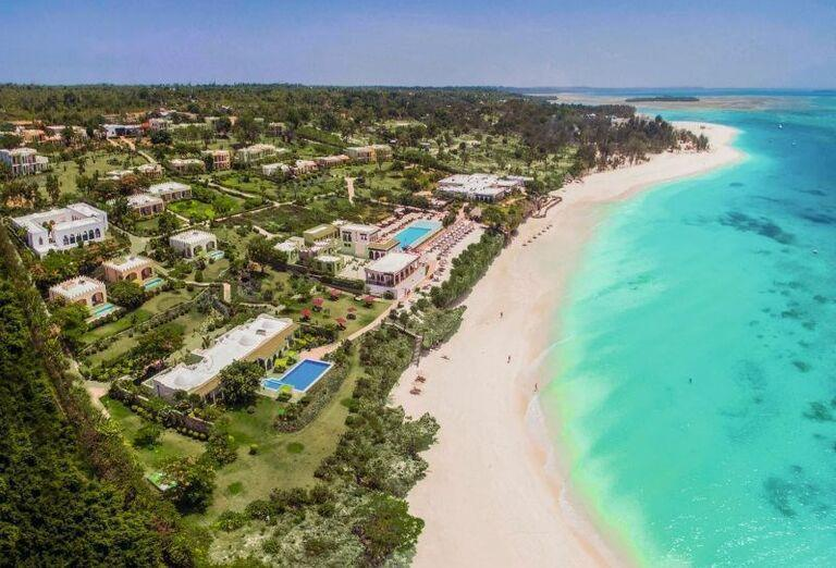Hotel RIU Palace Zanzibar - Pohľad na pláž