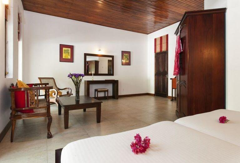 Izba v rezorte Surya Lanka Ayurveda Beach