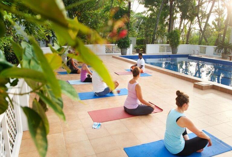 Cvičenie jógy