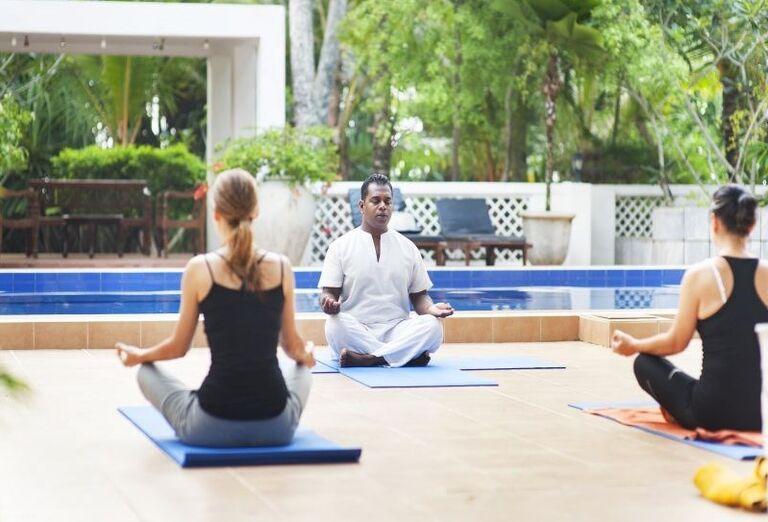 Cvičenie pri jóge