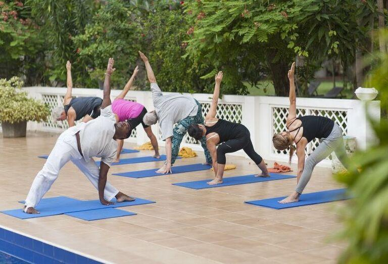 Polohy pri cvičení jógy