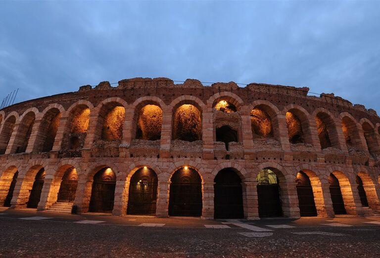 Arena di Verona, poznávací-zájazd, Taliansko