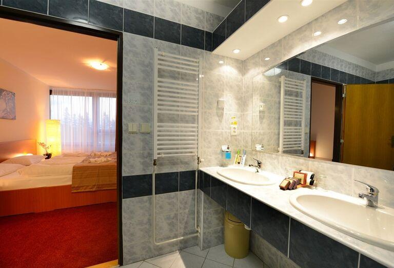 Kúpeľňa v hoteli Sorea Trigan