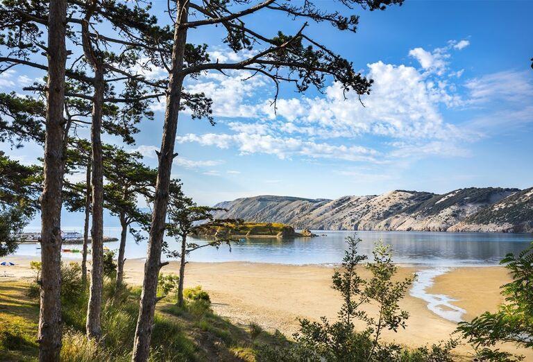 Veli Mel Sunny Hotel - pohľad na pláž