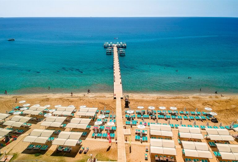 Pláž Hotel Limak Cyprus *****+