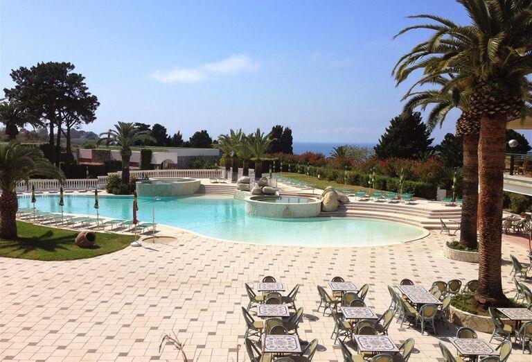 Hotel Labranda Rocca Nettuno Tropea, Kalábria, bazén