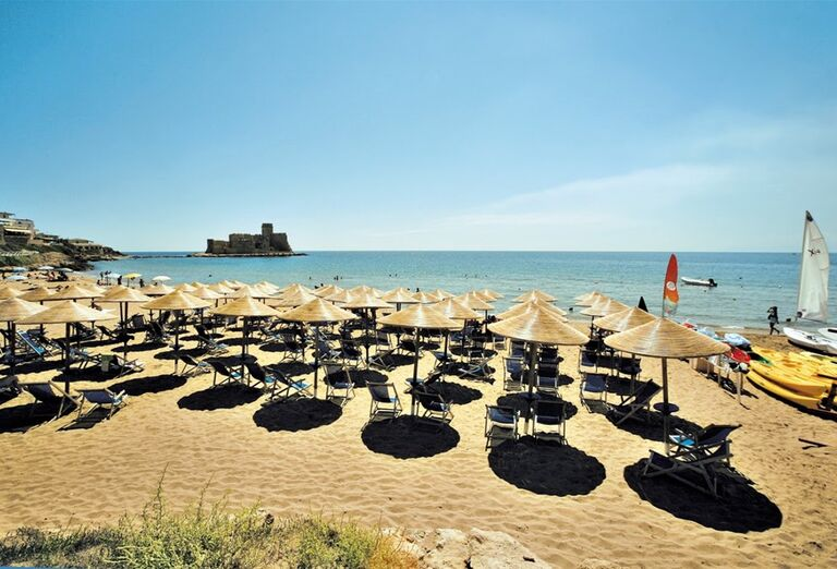 Pláž Hotel Futura Baia degli Dei ****