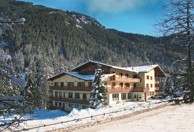 Villa Emma - pohľad na hotel